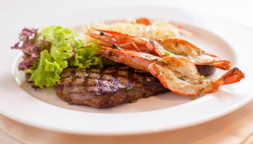 5% off all ala-carte main courses