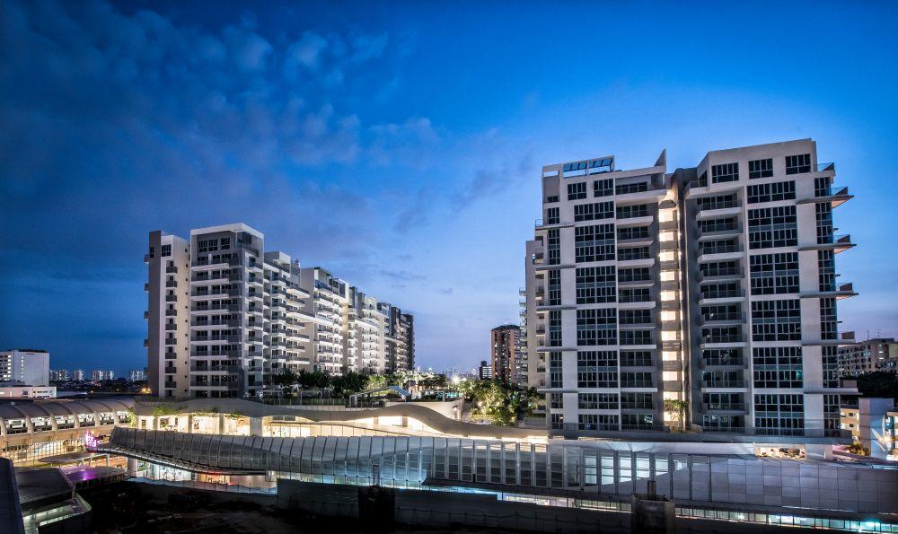 Bedok Residences And Bedok Mall Capitaland