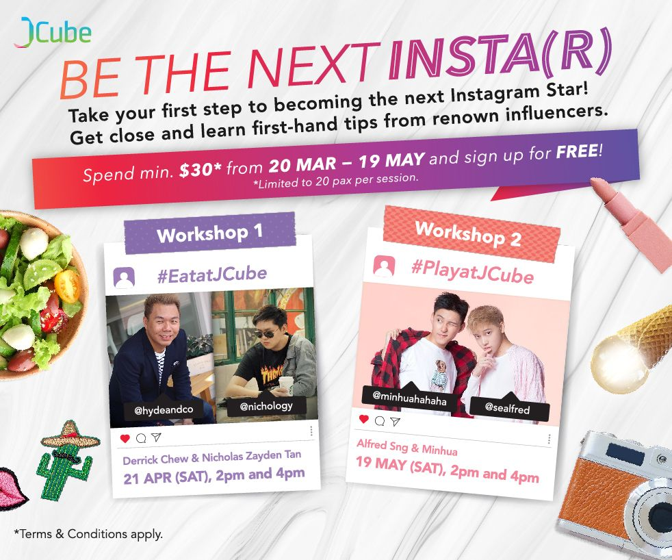 Be the next INSTA(R)!