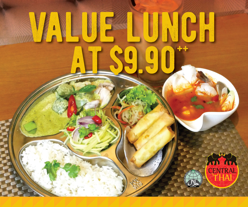 Central Thai Set Lunch Promo
