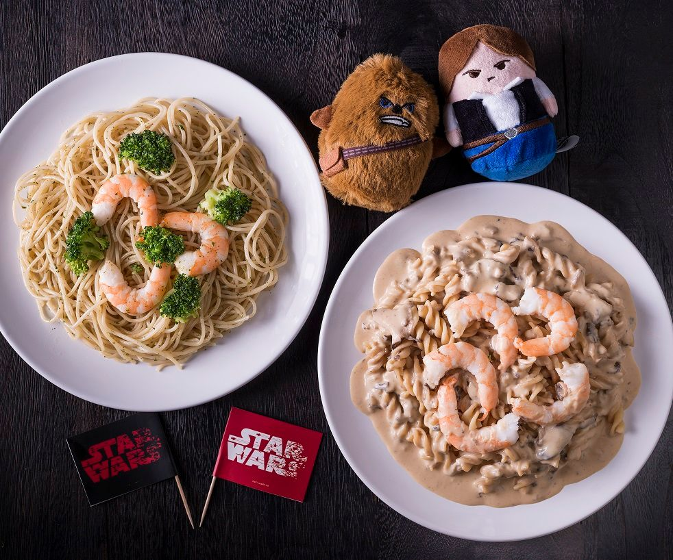 STAR WARS™ Inspired Pastas & Plushie Promotion