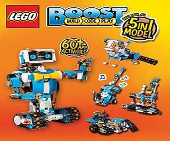 Learn to code and build with LEGO® Boost