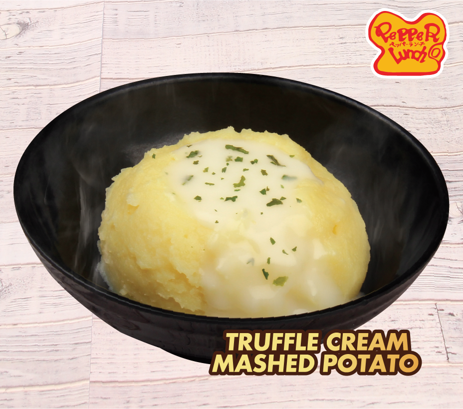 FREE Truffle Cream Mashed Potato (worth $2.80) with any Main Dish