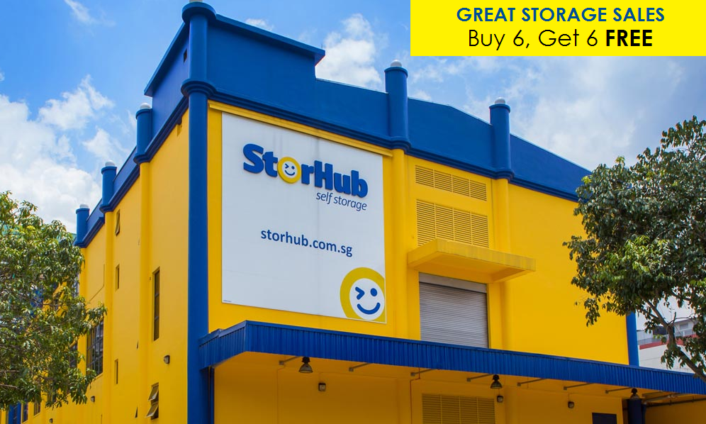 Great Storage Sales - Pay 6 months rental to enjoy 6 months free on StorHub