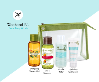 Yves Rocher Mon Weekend Kit at $14 (U.P. $20)