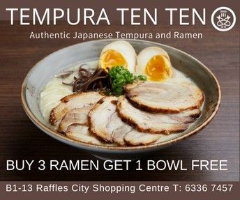 Celebrate Mother's Day this May with Authentic Japanese Ramen and tempura by award winning Japanese chef.