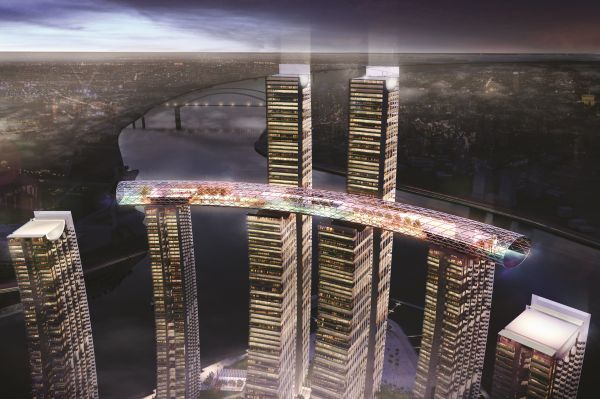 CapitaLand sets world record for Raffles City Chongqing with ...