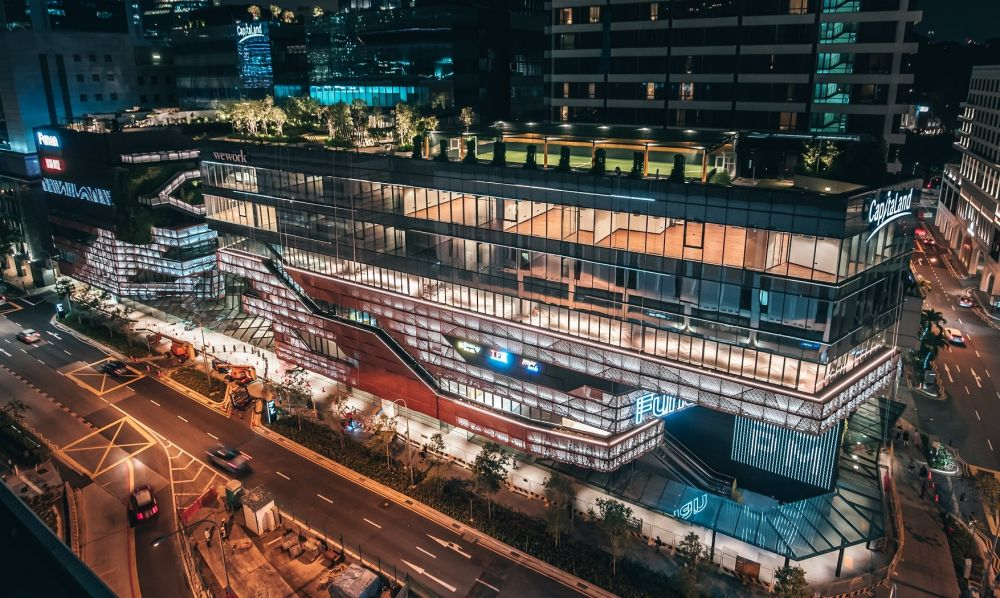 Funan's twin office blocks achieve 98% pre-leasing