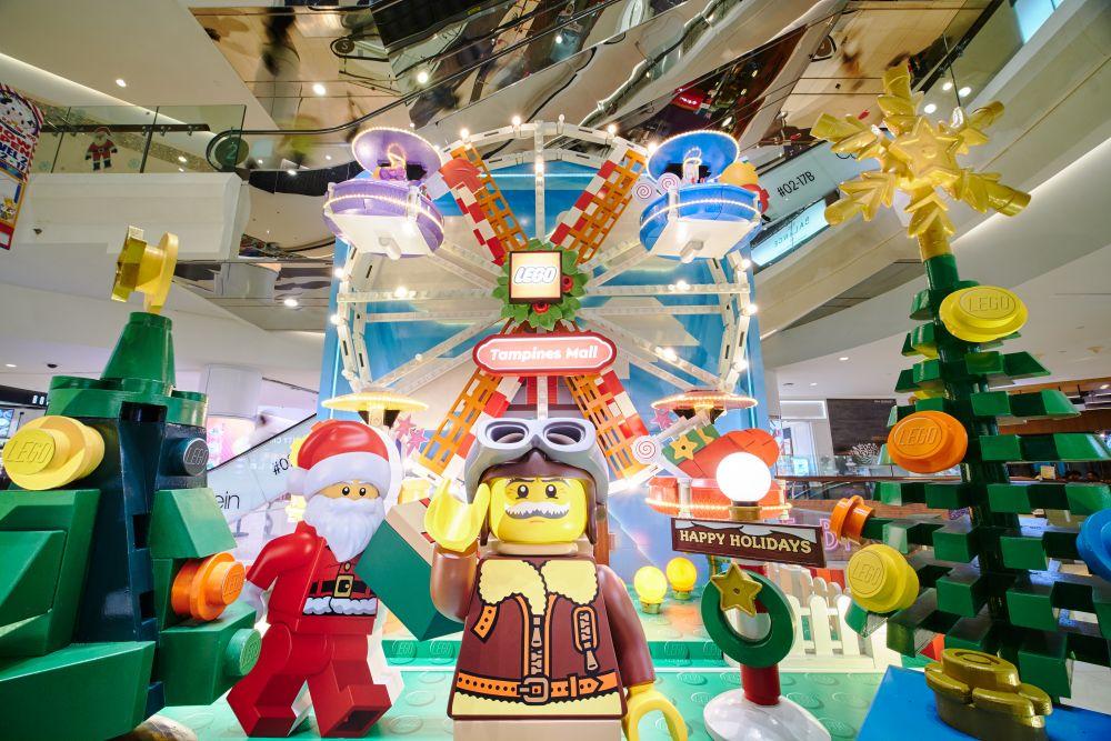 CapitaLand LEGO Carnival Singapore Christmas Events 2020