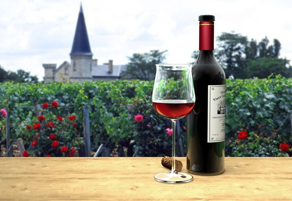 Bordeaux is one of France's largest wine-growing regions and produces some of the world's best red wines