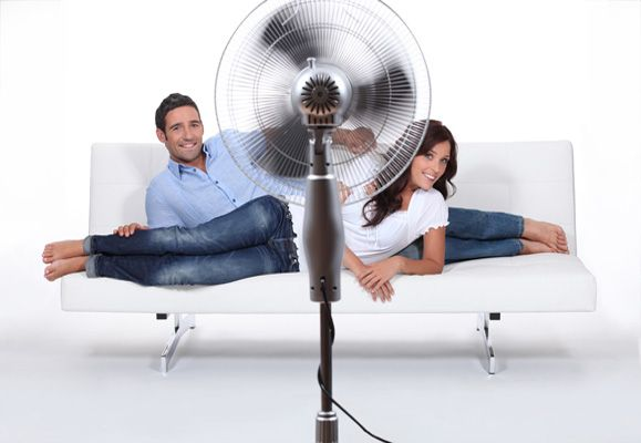 There are other ways to stay cool without resorting to the air-conditioner which can be an energy guzzler