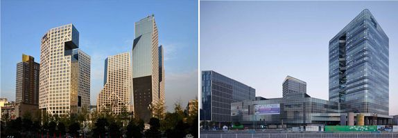 Both Raffles City Chengdu (left) and Raffles City Ningbo (right) will be celebrating their first anniversaries this month