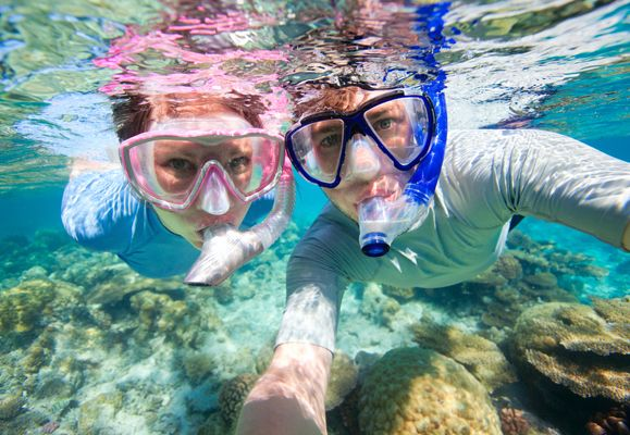 With technology, you can now do more than just snorkel in water