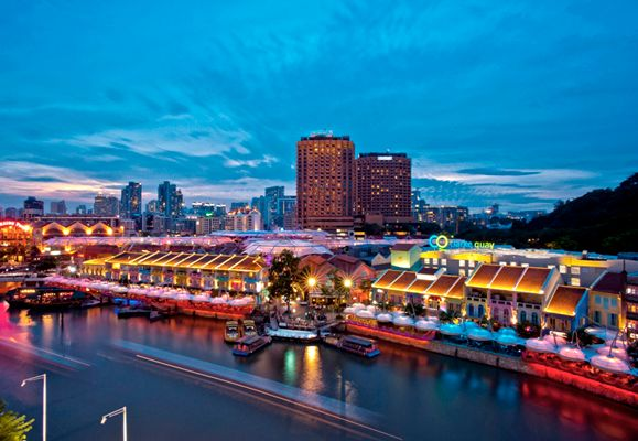 Clarke Quay is home to a wide range of dining and entertainment choices that makes it the perfect lifestyle destination