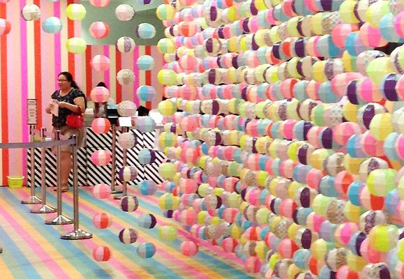 A whimsical washi (or Japanese paper) wonderland welcomed visitors who attended the first Singapore MT Expo at ION Orchard