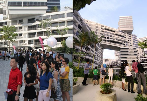 It was a massive turnout at the first-ever large-scale TOP party for residents thrown by CapitaLand
