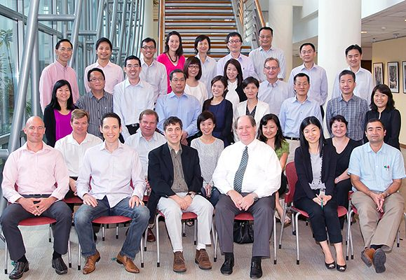 Participants of the CapitaLand Leadership Development Programme held on INSEAD Asia's Campus from 31 October to 2 November 2012 During Which They Learned How to Lead the Business, Lead Teams in Business, and Lead Self
