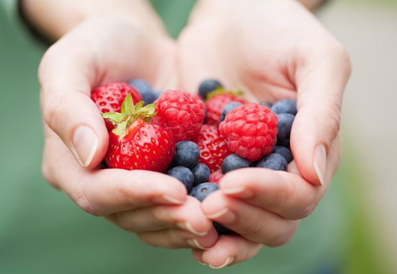 Heart disease need not be a health threat if you know how to eat right; Berries are high in antioxidants, anti-inflammatories which reduce risk of heart disease and cancer, fibre, and minerals