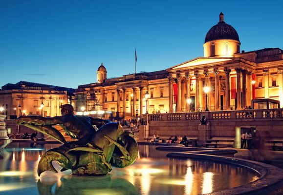 London is full of places like The National Gallery on Trafalgar Square that stores plenty of historic exhibits well worth visiting