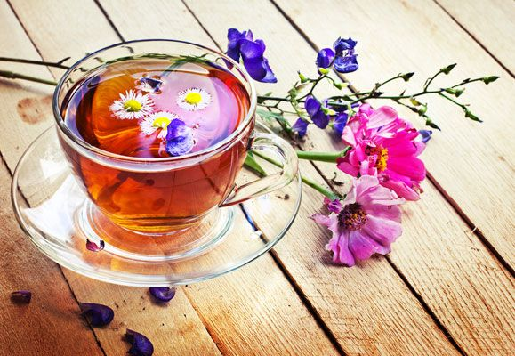 A cup of floral tea not only provides a fragrant respite but is a healthy brew that can rejuvenate both the body and the mind