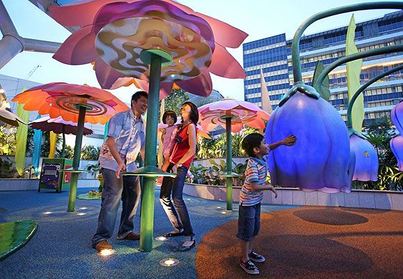 Immerse yourself in a wonderland of supersized fun at Westgate Wonderland, Singapore's first and largest themed outdoor playground in a mall