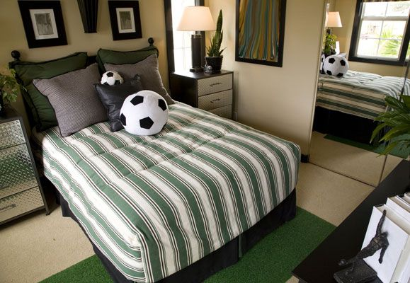 Get the ball rolling and decorate your home with a football theme as the much anticipated soccer season descends on us