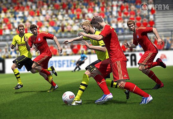 With the FIFA14 video game, you won't just have to cheer on the sidelines, you can play in the big leagues, too