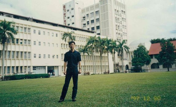 In 1997, Mr Qian secured a scholarship to do his Master in Economic Geography at Nanyang Technological University in Singapore