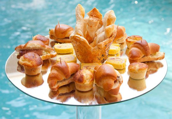Don't sweat over designing a menu for your pool party because there are so many F&B outlets that can deliver posh nosh to please your guests