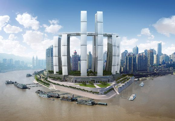 CapitaLand's largest integrated development in China, Raffles City Chongqing, will be fitted with an advanced district cooling system