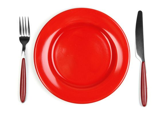 Watching that waistline? Eating off a red plate could help you eat less