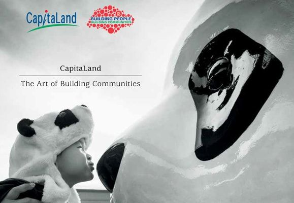 The cover of 'CapitaLand: The Art of Building Communities'