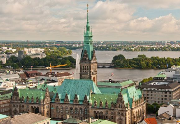 Hamburg in Germany is a city rich in history - a fact reflected in its name that is a reference to a medieval castle built by Emperor Charlemagne as a defence against Slavic invasion
