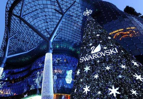 The centerpiece of ION Orchard's Christmas wonderland