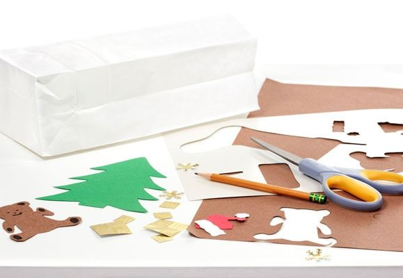 Reduce waste this Christmas by reusing old Christmas wrappings and cards, and other household items to make your own holiday decorations
