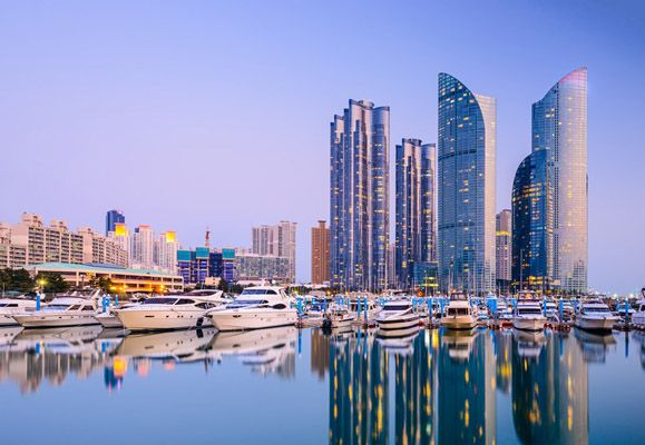 Haeundae is easily Busan's most famous landmark and the location of Citadines' latest property in South Korea-Citadines Haeundae Busan