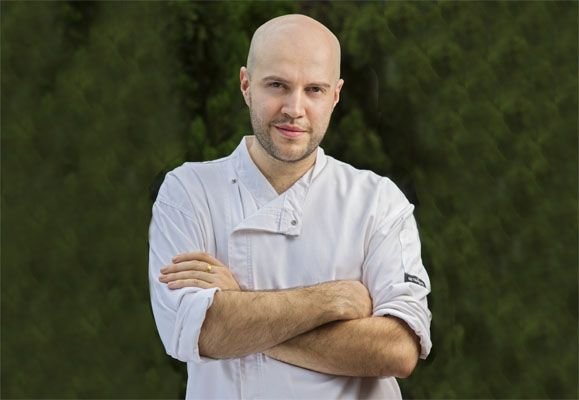 Chef Fernando Arevalo is head chef of Artemis Grill, a new Mediterranean restaurant on the 40th storey of CapitaGreen.