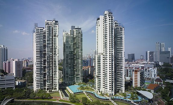 RiverGate at Martin Road: a Singapore landmark where the lush green vista flows seamlessly to the waterfront promenade.