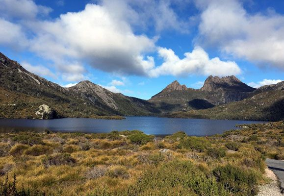 With its stunning landscape views, like this one of Cradle Mountain, Tasmania draws visitors from all over the world to its shores.