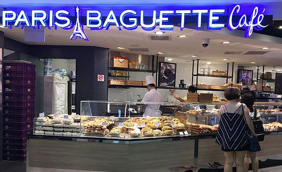 Paris Baguette from South Korea is one of the most successful Asian-French bakery chains in the world.