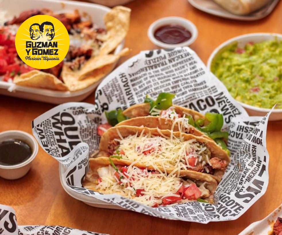 Complimentary Hard-Shell Tacos (min. $20 spend)