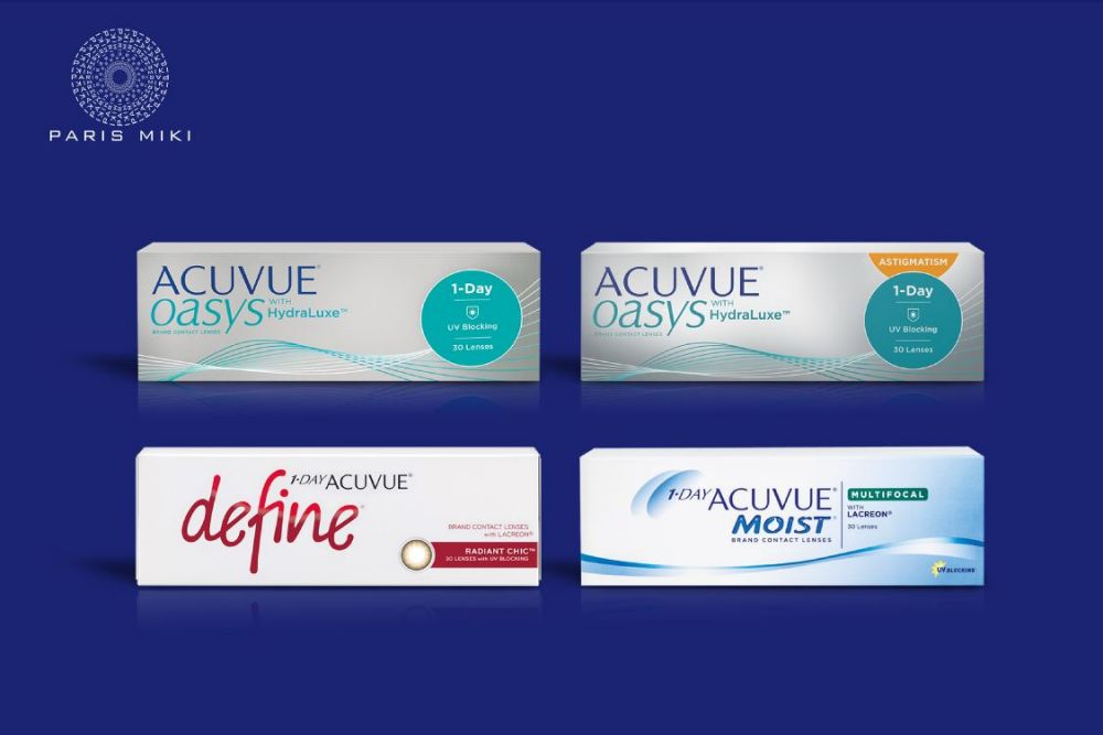 $20 OFF ACUVUE® contact lens (min. $100 spend)