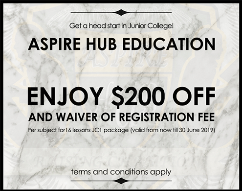 $235 OFF at Aspire Hub Education Centre