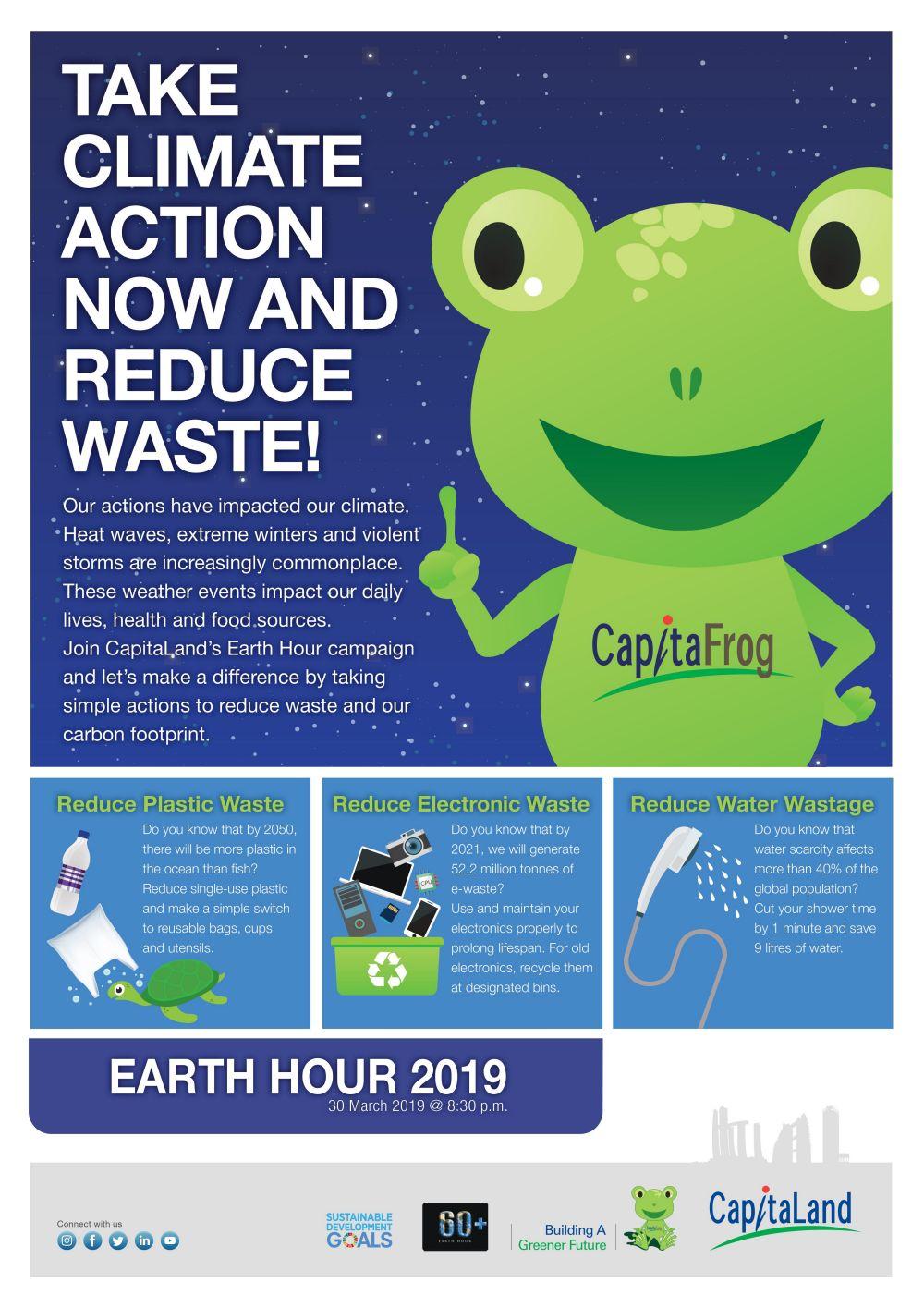 Earth Hour 2019 | CapitaLand