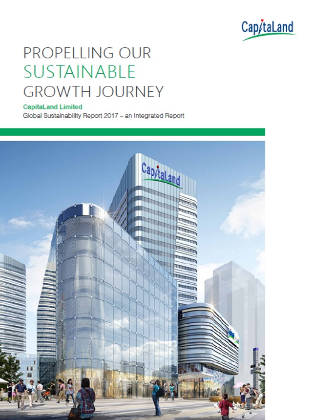 CapitaLand Sustainability Report 2017 - GRI Materiality Disclosures