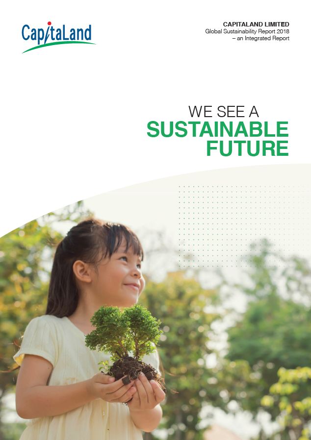CapitaLand Limited Global Sustainability Report 2018 - GRI Materiality Disclosures