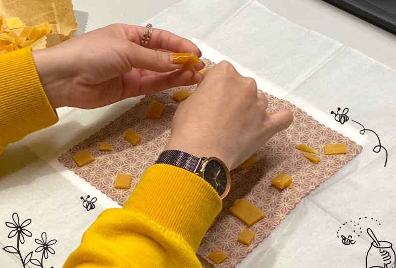 We Were Bee-sy Making Our Very Own Beeswax Wraps!