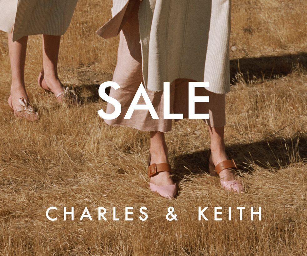CHARLES & kEITH End-of-Season Sale