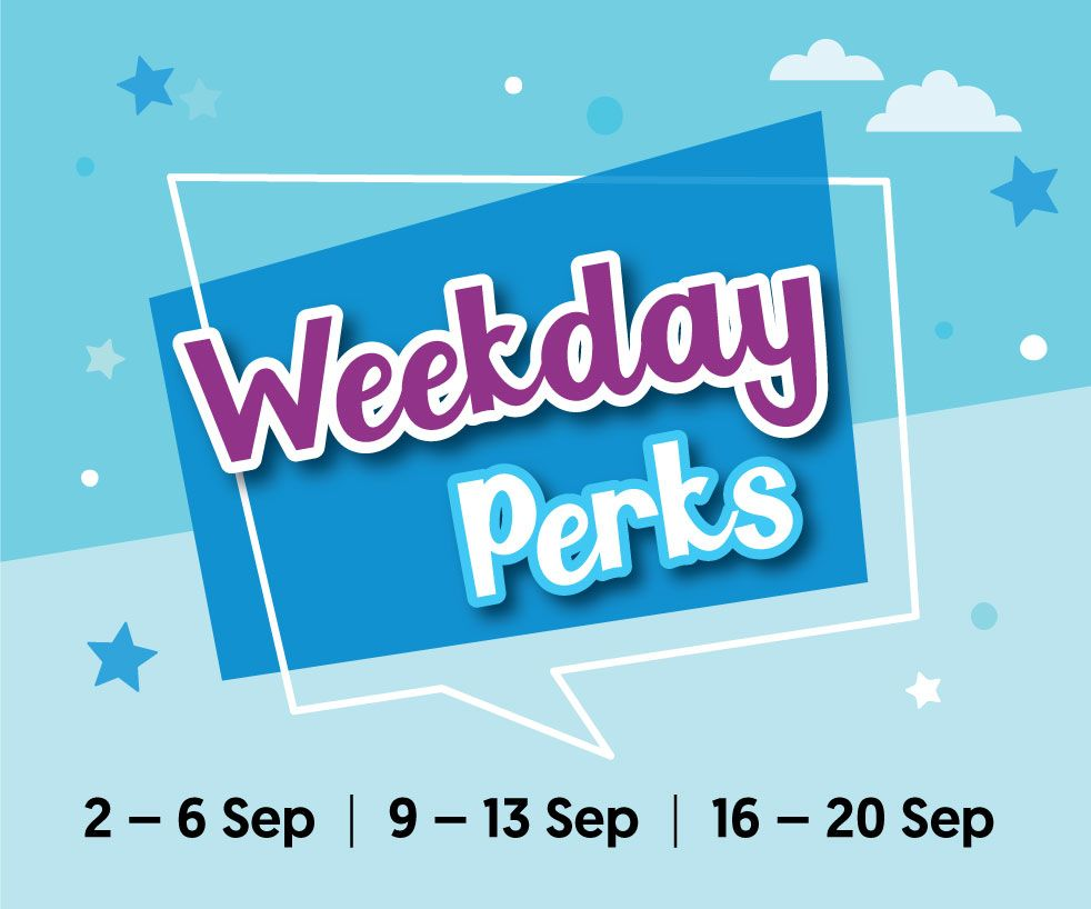 Delightful Discoveries! - Weekday Perks
