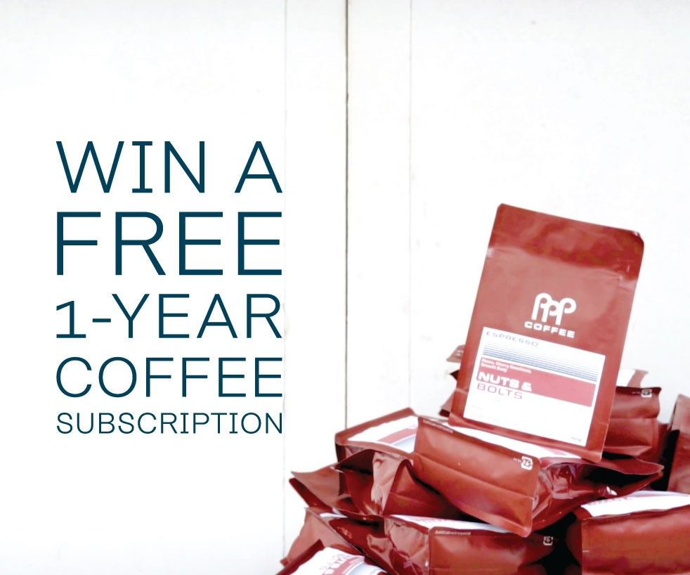Win A Free 1-Year Coffee Subscription